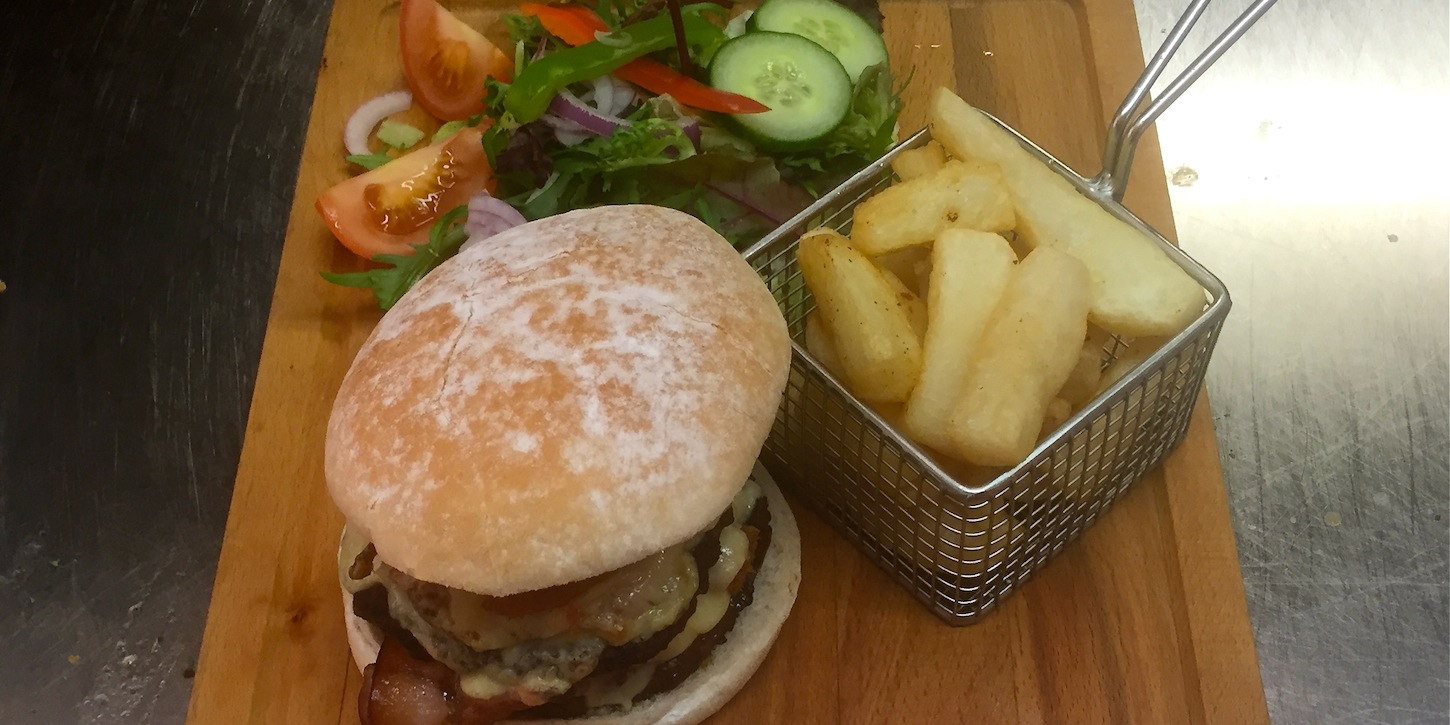 Swan at Whiston - Burger Menu